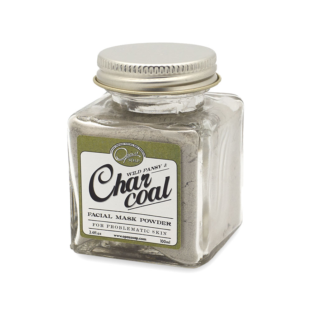 Charcoal Facial Mask Powder