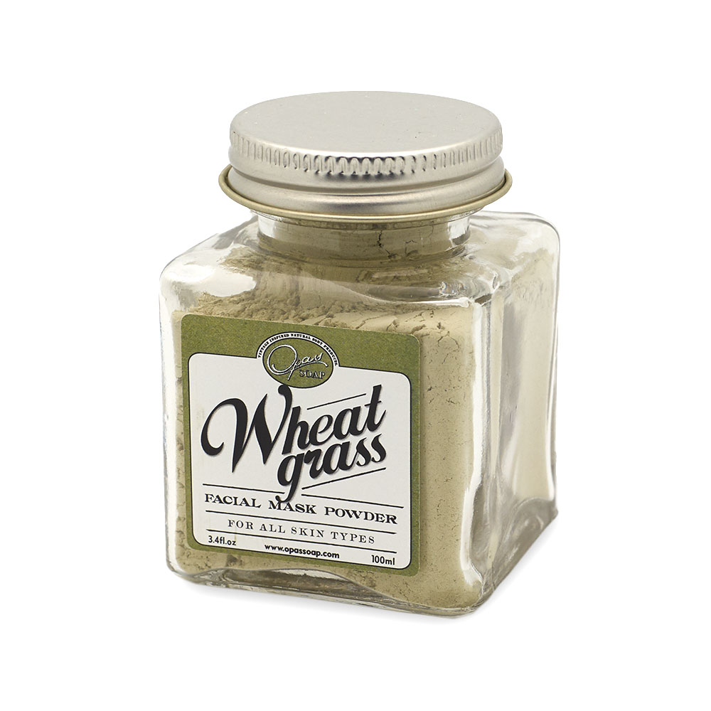 Wheatgrass Facial Mask Powder